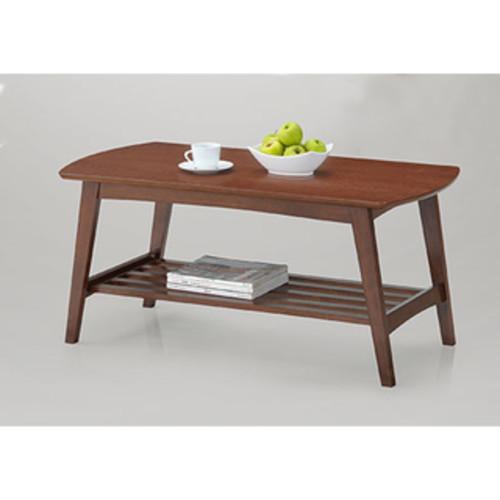 Safavieh Josiah White/ Dark Brown Lacquer Coffee Table