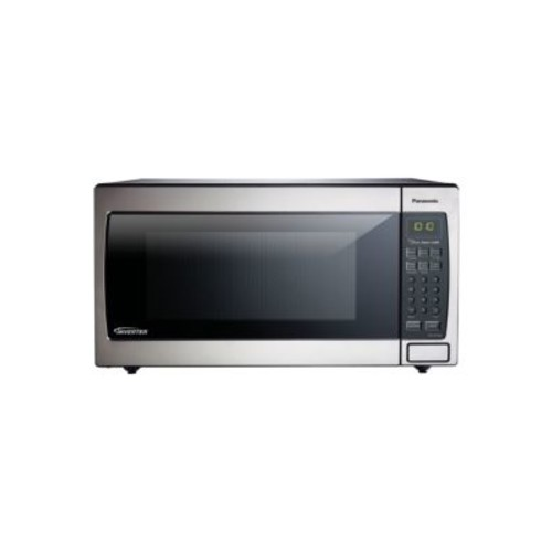 1.6 Cu. Ft. 1250W Genius Sensor Countertop-Built-In Microwave Oven with Inverter Technology
