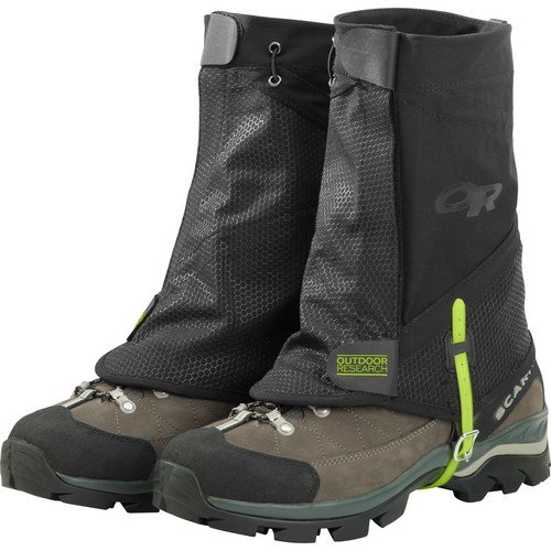 Outdoor Research Flex-Tex II Gaiters [Black-001,Large/X Large]