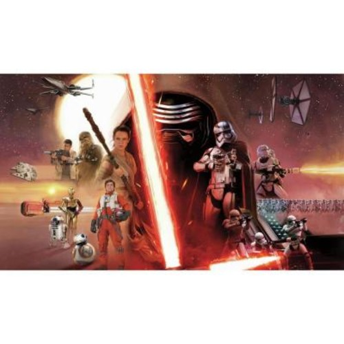 RoomMates 72 in. x 126 in. Star Wars EP VII 7-Panel Pre-Pasted XL Surestrip Wall Mural
