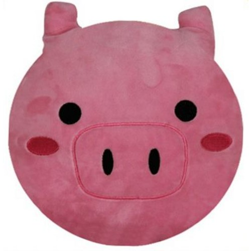 BH Home Emoji Series Expression Pig Face Cotton Throw Pillow