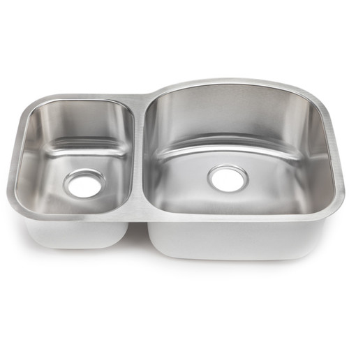 Blanco Stellar 18-gauge Steel 1.6 Reverse Double Bowl Kitchen Sink
