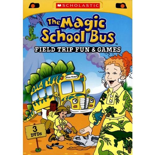 The Magic School Bus: Field Trip Fun and Games [3 Discs] [DVD]