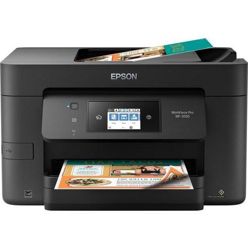 Epson - WorkForce Pro WF-3720 Wireless All-In-One Printer - Black