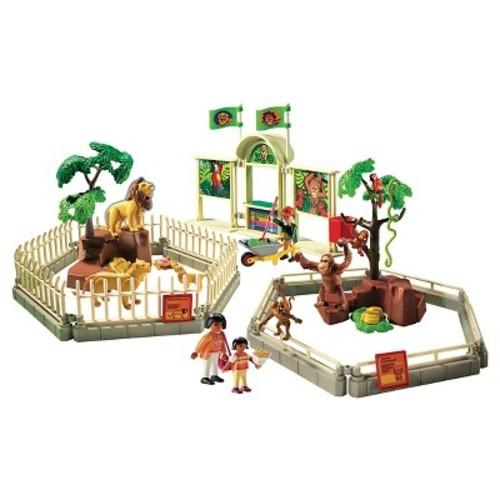 Playmobil City Zoo Playset
