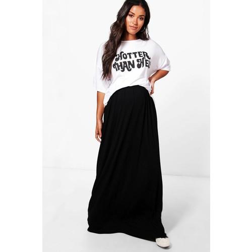 Maternity Rachel Jersey Based Maxi Skirt