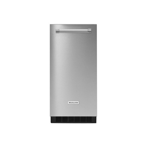 KitchenAid 15 in. 51 lbs. Built-In or Freestanding Ice Maker in Stainless Steel