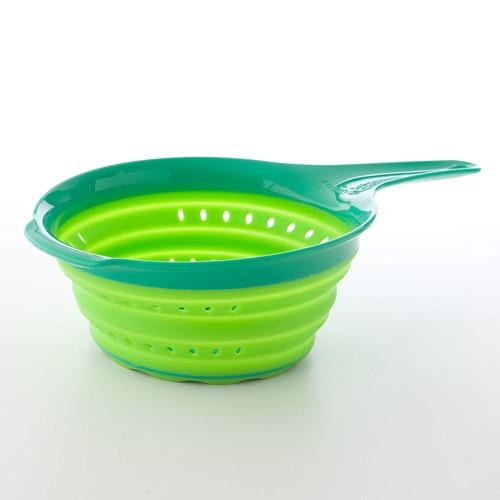 Squish 2 quart Colander, Green [Green, 2-Quart]