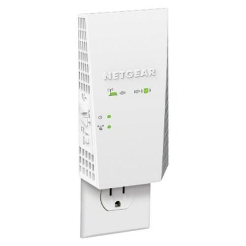 NETGEAR - AC1900 Dual-Band Gigabit Wi-Fi Range Extender Essentials Edition - White