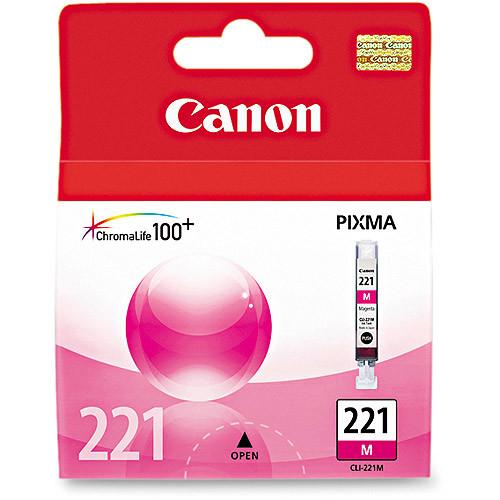 Canon CLI-221M Original Ink Cartridge, 1 Each (Quantity)