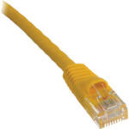 Cat5e 350 MHz Snagless Patch Cable (14', Yellow)
