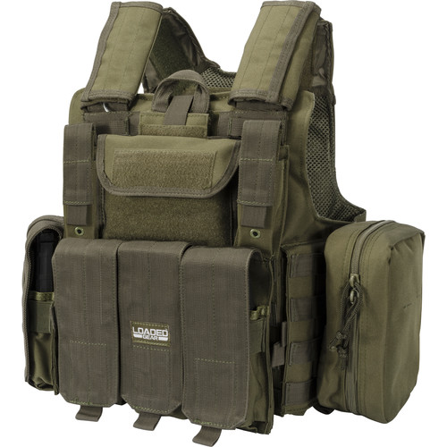 Loaded Gear VX-300 Tactical Vest (OD Green)