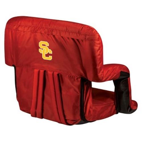 NCAA USC Trojans Ventura Portable Reclining Seat, Red