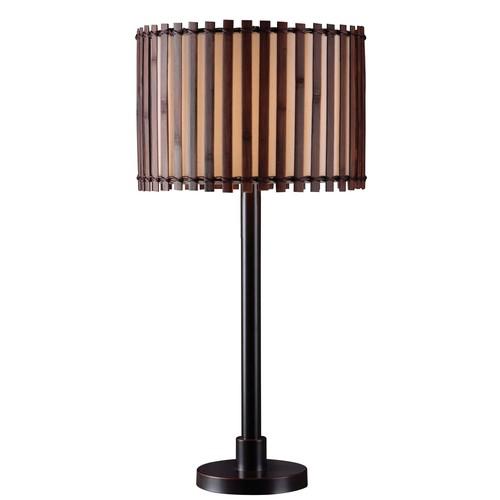 Kenroy Home 32279BRZ - Bora Outdoor Table Lamp Bronze Finish