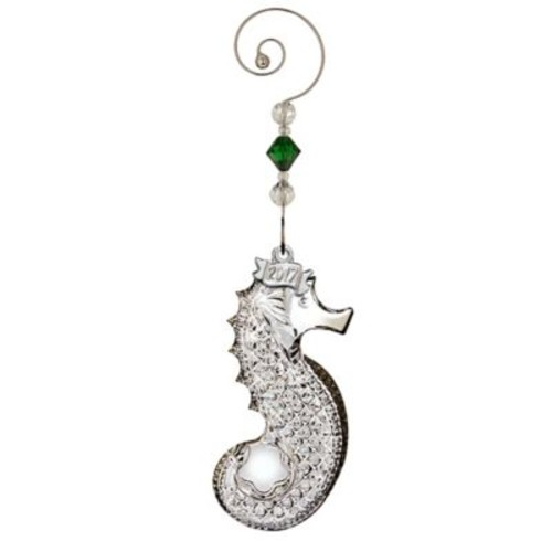 Waterford 2017 Annual Seahorse Christmas Ornament