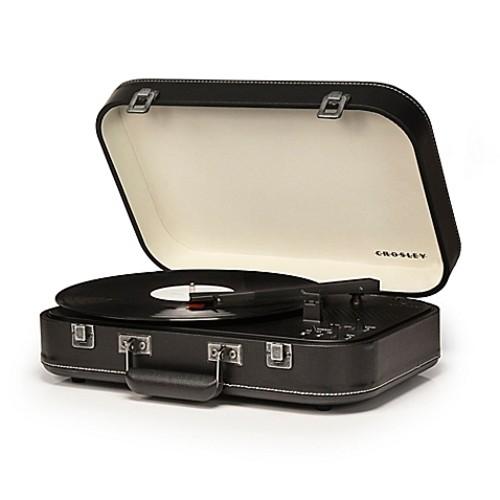 Crosley Suitcase Turntable in Black