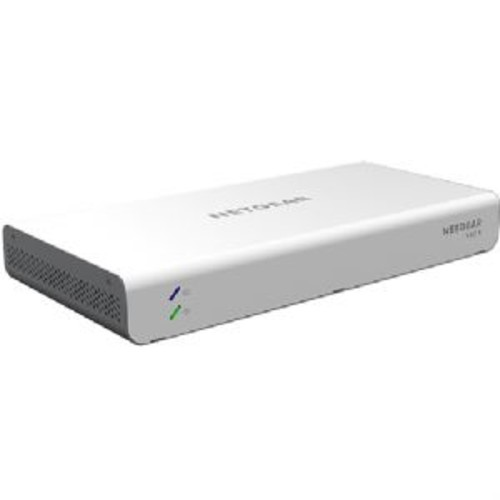 NETGEAR Insight Managed 8-port Gigabit Ethernet 62W PoE Smart Cloud Switch - 8x PoE Copper Gigabit Ethernet Ports, 2x SFP Fiber Ports, 1.5MB Buffer, 16K MAC Address Size, Wallmount - GC110P-100NAS