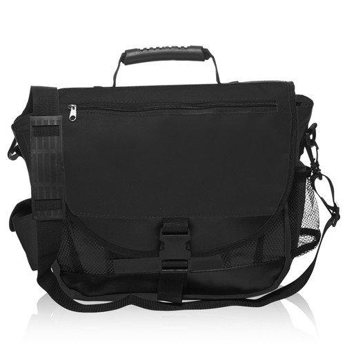 Natico Messenger Bag Black