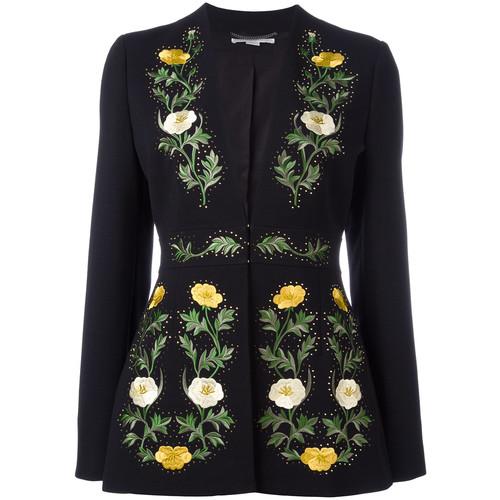 STELLA MCCARTNEY Floral Embroidered Jacket