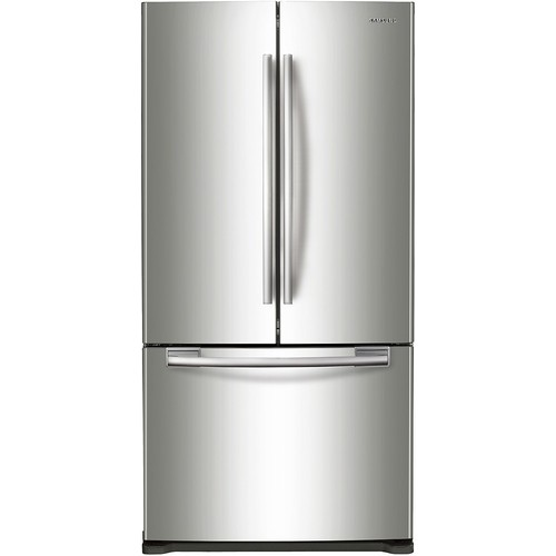 Samsung - 19.4 Cu. Ft. French Door Refrigerator - Stainless Steel
