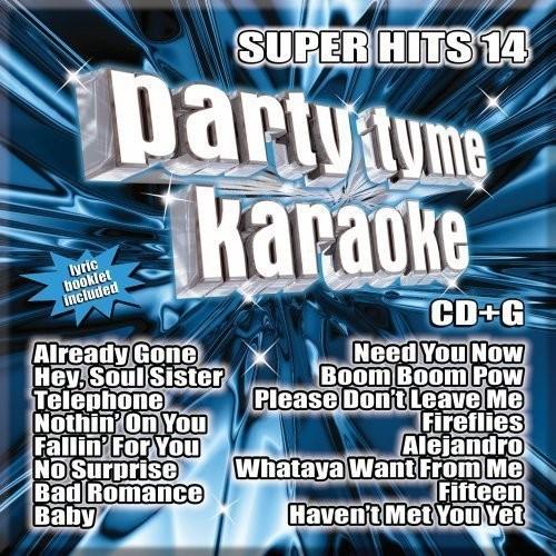 Party Tyme Karaoke: Super Hits, Vol. 14 [CD]