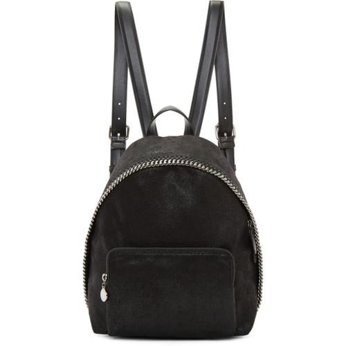 Black Small Falabella Backpack