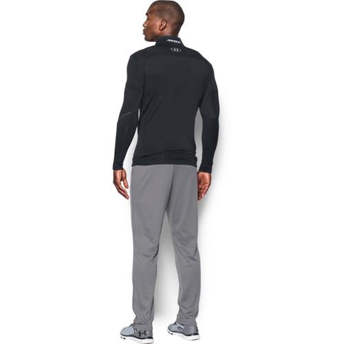 Under Armour Men's ColdGear Infrared Elements 1/4 Zip Long Sleeve Shirt - Black