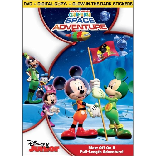 Mickey Mouse Clubhouse: Space Adventure [DVD]