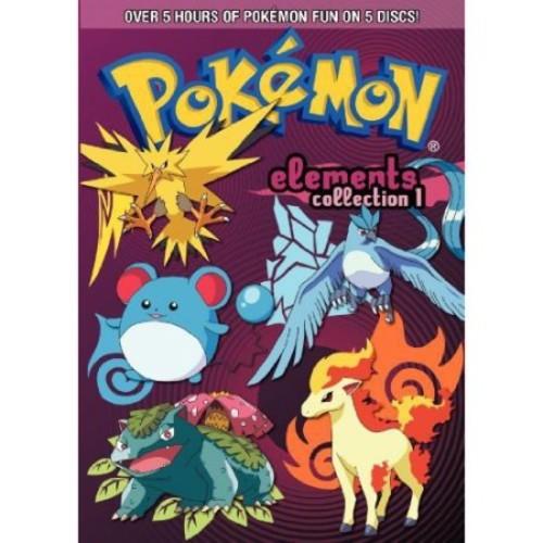 Pokemon Elements: Collection 1 [5 Discs] [DVD]