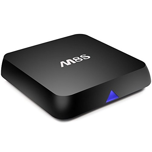 Zenoplige M8S Android TV BOX 4K Mini Media Player Amlogic S812 Quad Core 2G/8G 2.0 GHz 4.4 HD KODI/XBMC Full Loaded 2.4G/5G Dual Band WIFI with Bluetooth 4.0