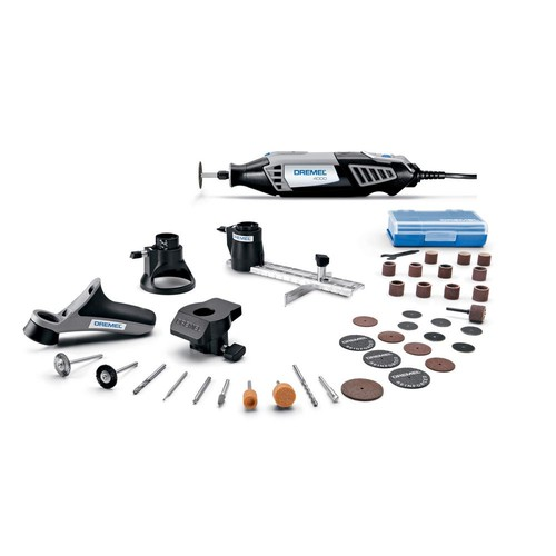 Dremel 4000 Series 1.6 Amp Corded Variable Speed High Performance Rotary Tool Kit with 36 Accessories and A Case