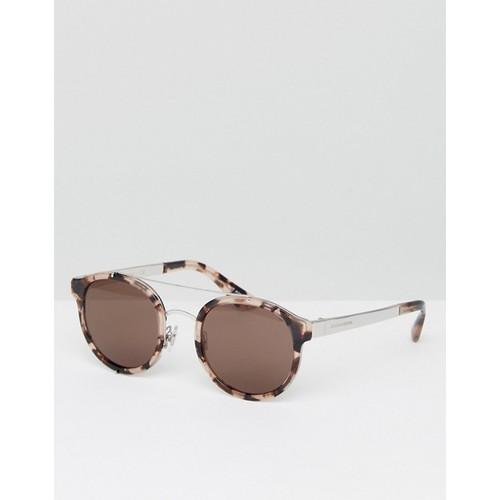 Dolce & Gabbana Round Sunglasses in Tortoiseshell