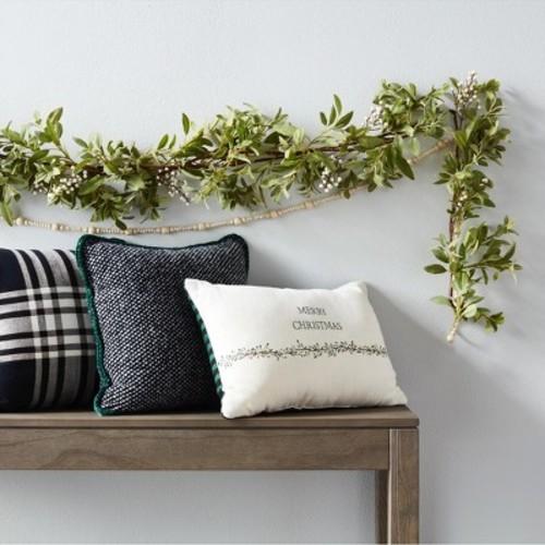 Wreath Kitchen Towel Set (2pk) - Cream/Red - Hearth & Hand with Magnolia