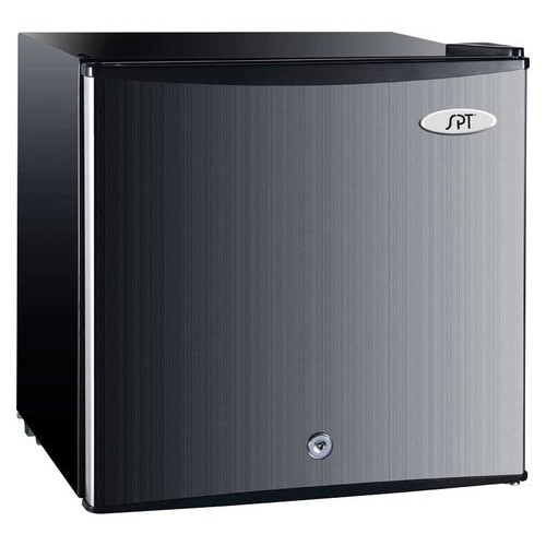 SPT - 1.1 Cu. Ft. Upright Freezer - Stainless Steel