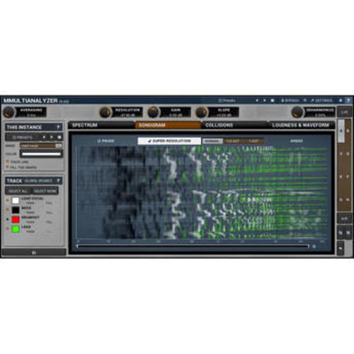MMultiAnalyzer - Multitrack Analyzer and Sonogram Plug-In (Download)
