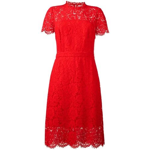 DIANE VON FURSTENBERG Lace Detail Dress