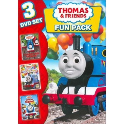 Thomas & Friends: Fun Pack [3 Discs] [DVD]