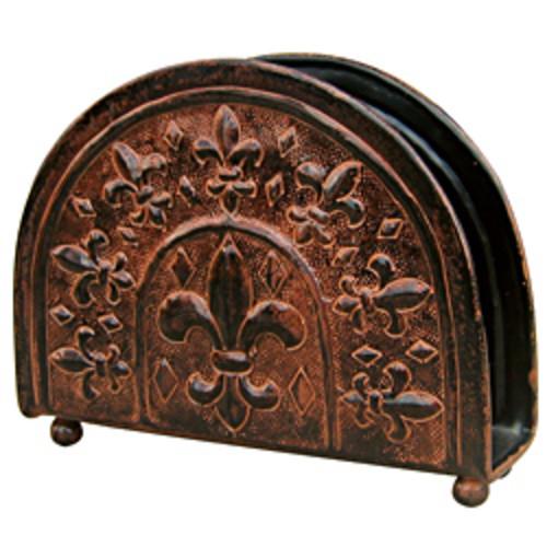 Dutch Antique Embossed 'Heritage' Napkin Holder