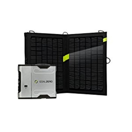 Goal Zero Sherpa 50 Solar Recharging Kit with Nomad 13 Solar Panel [Sherpa 50 13]