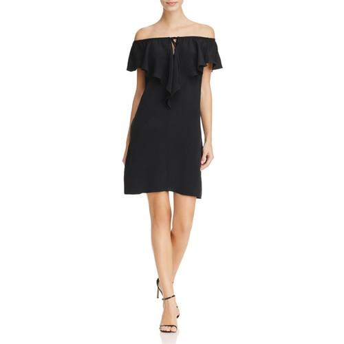 Lani Off-the-Shoulder Ruffle Dress