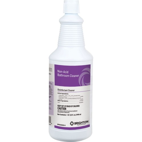 Brighton Professional Non-Acid Disinfectant Bathroom Cleaner, 32 oz.
