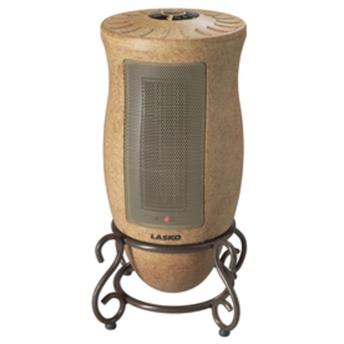 Lasko 5,118-BTU Ceramic Tower Electric Space Heater with Thermostat