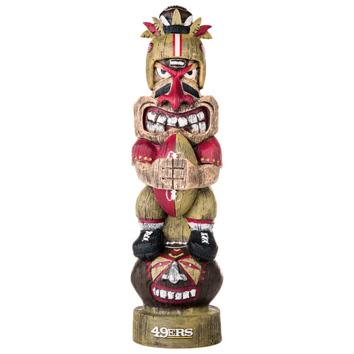 NFL San Francisco 49ers Tiki Figurine