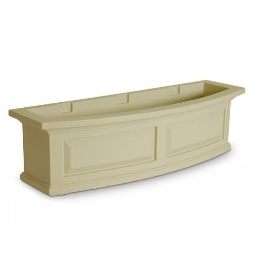 Mayne 4830-C Nantucket Polyethylene Window Box, 3' , Clay [Clay]