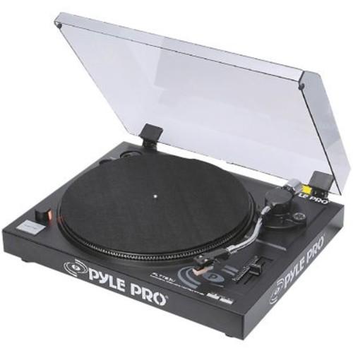 Pyle Pro PLTTB3U Belt Drive USB Turntable With Digital Recording Software, 33 1/3RPM/45 RPM