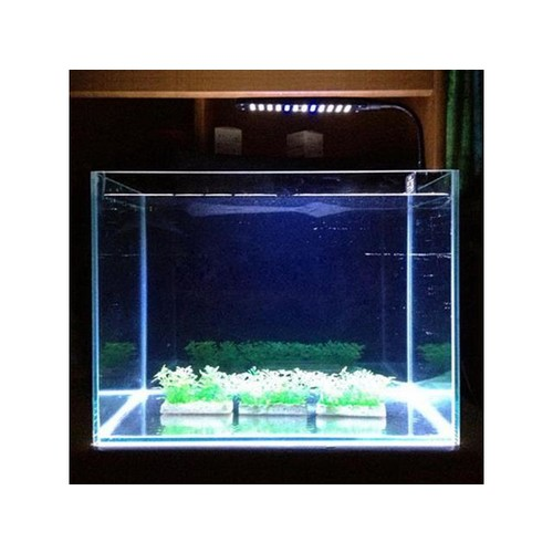 48 LED Aquarium Fish Light Plant Grow Clip-on Lamp Adjustable Arm Light black