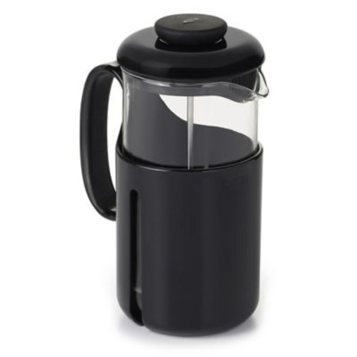 OXO Good Grips Venture 8-Cup French Press Coffee Maker in Black/Clear