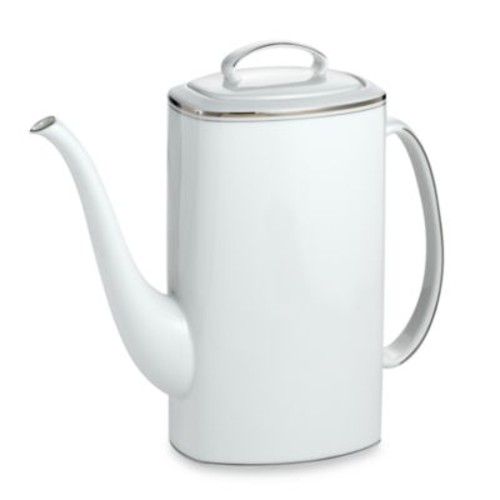 kate spade new york Library Lane Platinum Coffeepot