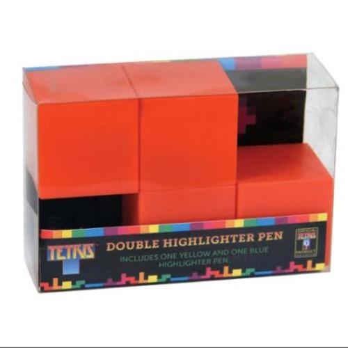 Tetris Double Highlighter Pen