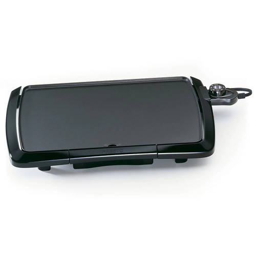 Presto 07047 Cool Touch Electric Griddle [Black, NO SIZE]